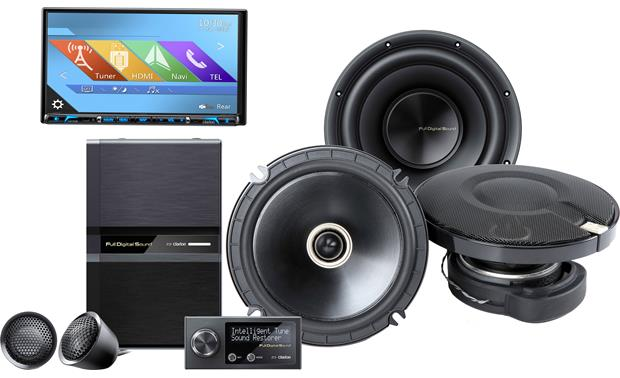 clarion full digital sound system with receiver includes. Black Bedroom Furniture Sets. Home Design Ideas