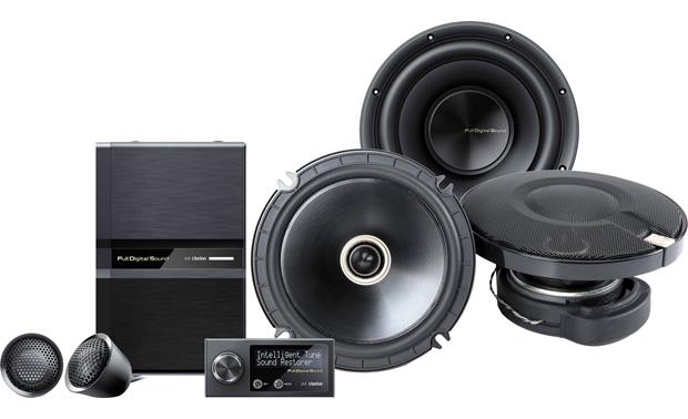 Clarion Full Digital Sound System Front