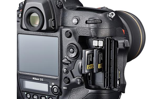 Nikon D5 (no lens included) Dual XQD card slots