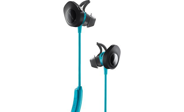 Bose® SoundSport® wireless headphones Extra-soft StayHear� sports ear tips fit securely and comfortably during workouts