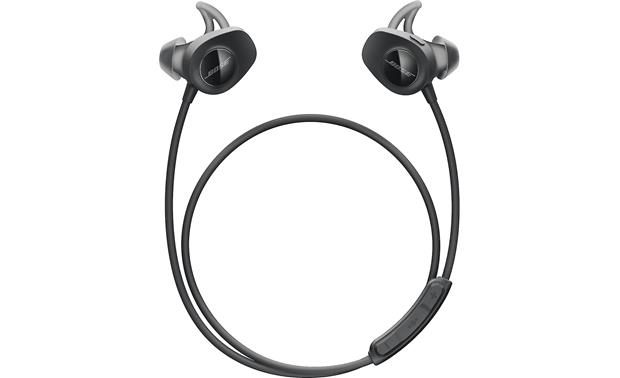 Bose Soundsport Wireless Headphones Wraparound Cable Includes A Remote To Control Music And Calls