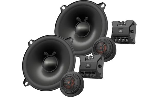 JBL Club 5000C These 3-ohm speakers are sensitive enough that you can power them with a factory radio, an aftermarket radio, or an amp