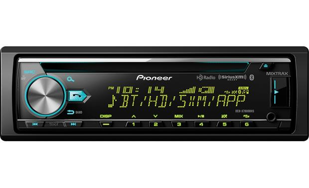 Pioneer DEH-X7800BHS The DEH-X7800BHS offers custom color settings for the display and buttons