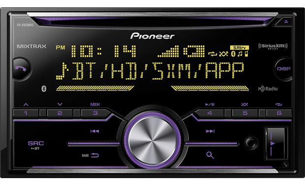 Pioneer FH-X830BHS Variable color illumination