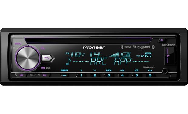 Pioneer DEH-X8800BHS You'll find front and rear USB inputs on the DEH-X8800BHS