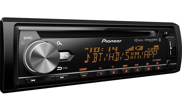 Pioneer DEH-X8800BHS Variable color illumination