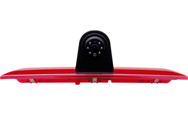 Boyo VTS50 This custom-fit rear-view cam integrates with your Transit's 3rd brake light