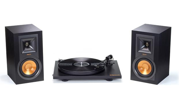 Klipsch R-15PM and Pro-Ject Turntable Package Front