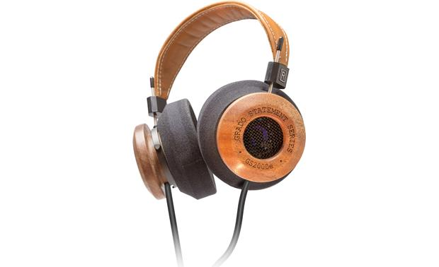 Grado GS2000e Beautiful earcups hand-crafted from mahogany and maple