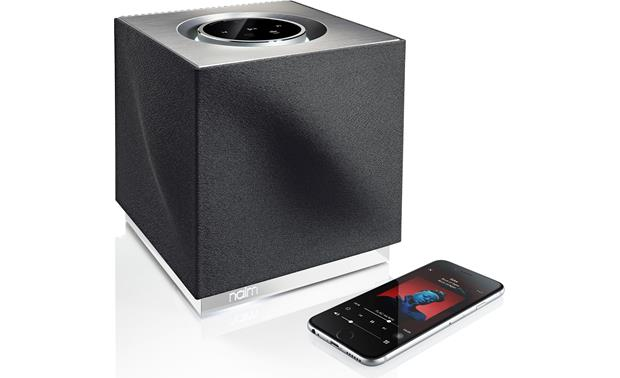 Naim Mu-so Qb Stream wirelessly from your smartphone (not included)