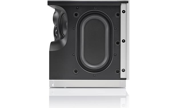 Naim Mu-so Qb One of two passive bass ports