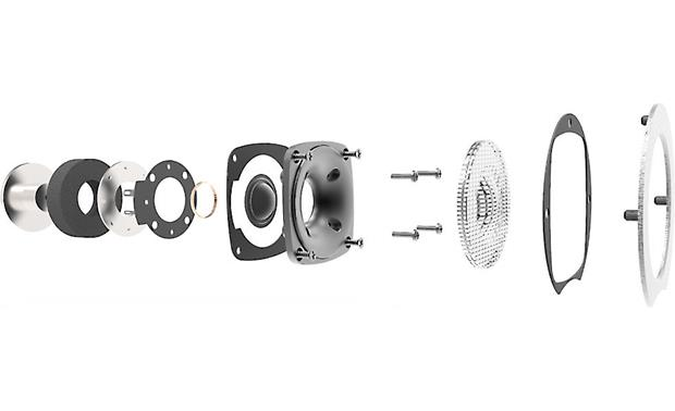 ELAC Debut B5 Exploded view of tweeter