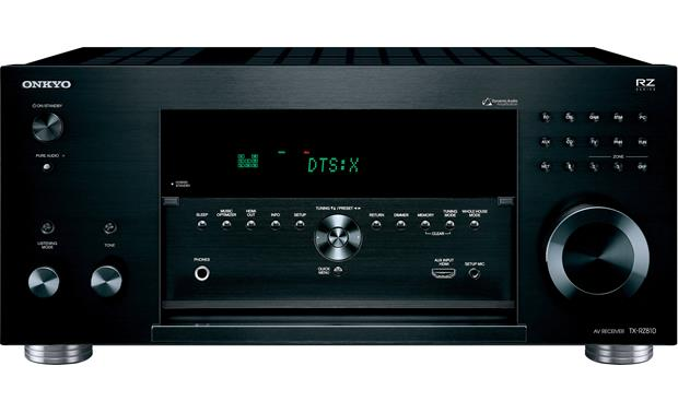 Onkyo TX-RZ810 Front-panel connections and controls