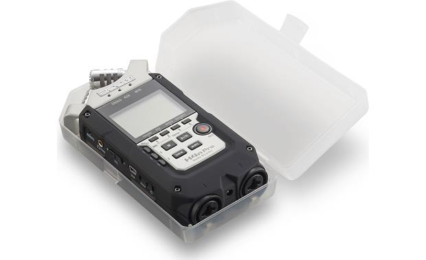 Zoom H4N Pro With included case open