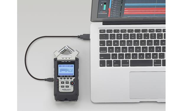 Zoom H4N Pro Compatible with most digital workstation programs (laptop not included)