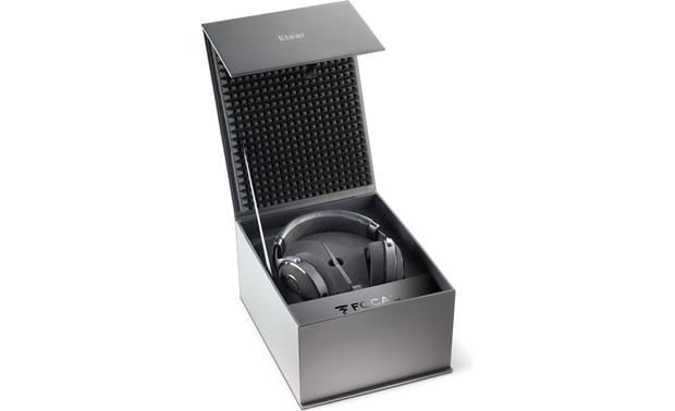 Focal Elear Packaged in a solid, padded storage case