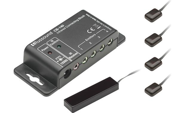 Russound SLM-1K Position the small IR emitters in front of your A/V components for easy control through cabinet doors