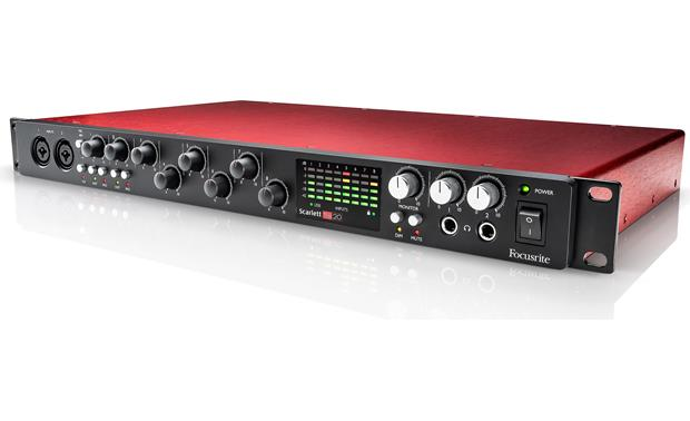 Focusrite Scarlett 18i20 (Second Generation) Front