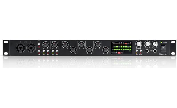 Focusrite Scarlett 18i20 (Second Generation) Direct front view