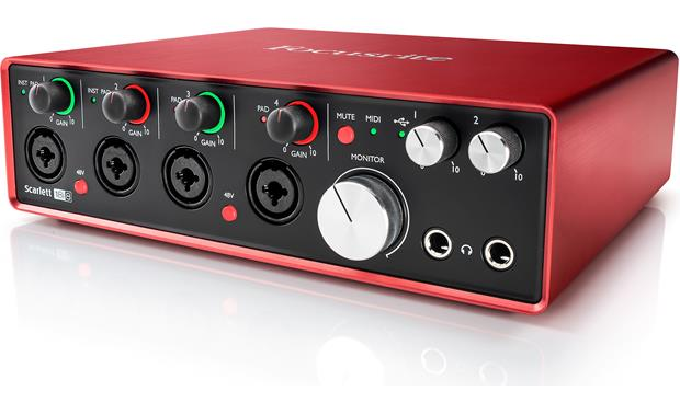 Focusrite Scarlett 18i8 (Second Generation) Front