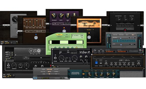 Focusrite Scarlett 2i2 (Second Generation) The bundled software includes some cool effects and guitar amp simulations
