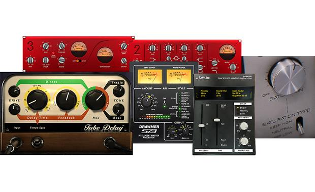 Focusrite Scarlett 2i2 (Second Generation) Included software plug-ins help you refine your sounds