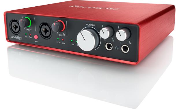 Focusrite Scarlett 6i6 (Second Generation) Front