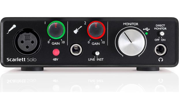 Focusrite Scarlett Solo (Second Generation) Direct front view