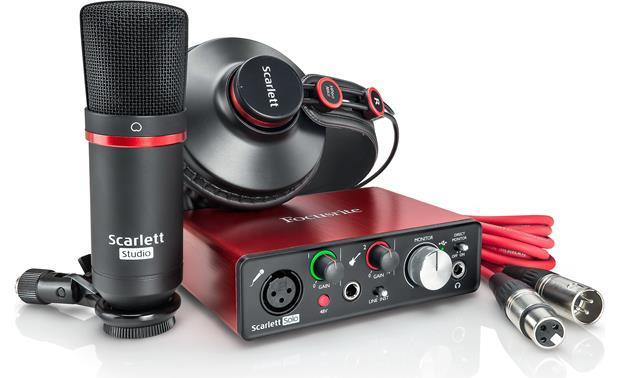 Focusrite Scarlett Solo Studio (Second Generation) Everything you need to record music on your computer