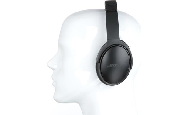 Bose® QuietComfort® 35 (Series I) Acoustic Noise Cancelling® wireless headphones Mannequin shown for fit and scale