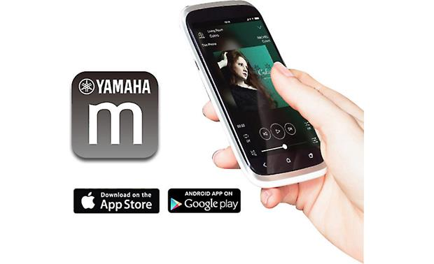 Yamaha YSP-2700 Digital Sound Projector Control your MusicCast multi-room system with a free mobile app