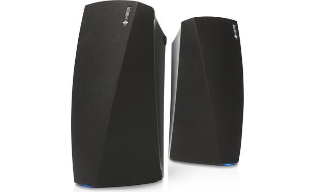 Denon HEOS 3 Bundle Includes two HEOS 3 powered bookshelf speaker with Wi-Fi and Bluetooth