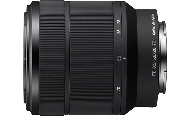 Sony SEL2870 28-70mm f/3.5-5.6 FE OSS Side