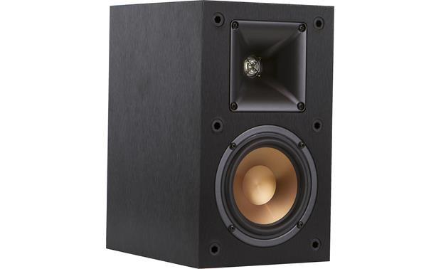 Klipsch Reference R-14M Shown with the grille off