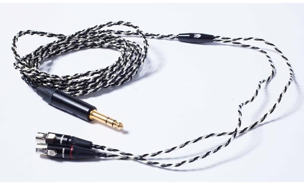 Audeze LCD-4 Premium four-conductor cable for accurate signal transmission
