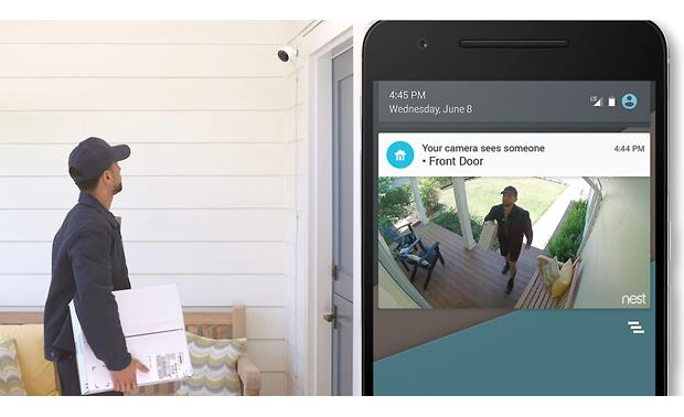 Nest Cam Outdoor Security Camera Waiting for a package? You'll know when it arrives