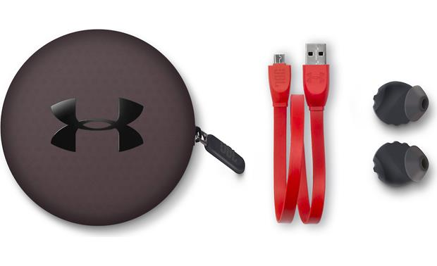 Under Armour® Headphones Wireless — Engineered by JBL Included case and accessories