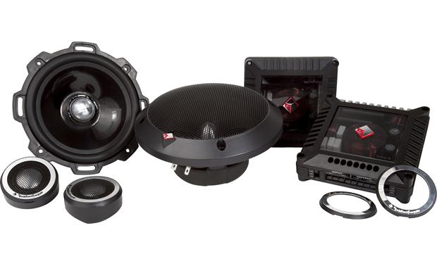 Rockford Fosgate T252-S These Rockford Fosgate Power speakers are a stellar pairing with an aftermarket amp