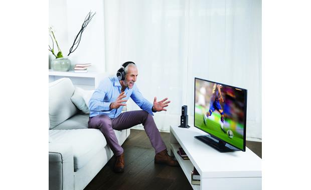 Sennheiser RS 195 Hear TV clearly without disturbing others