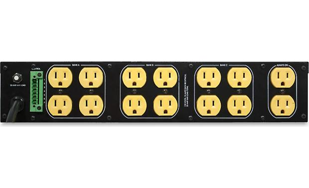 SurgeX SEQ 14 protected AC outlets