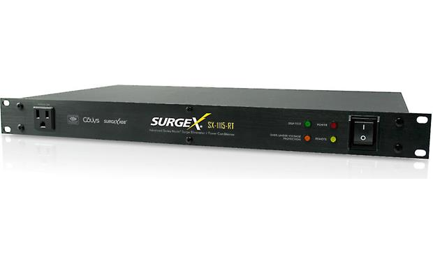 SurgeX SX-1115RT Magnetic-shielded steel chassis
