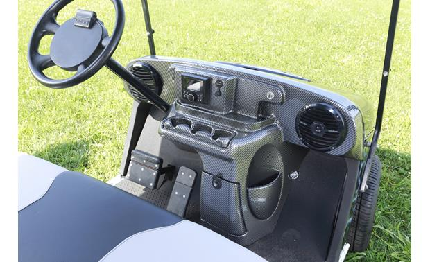 Boss/VIP Golf Cart Sound System Installed