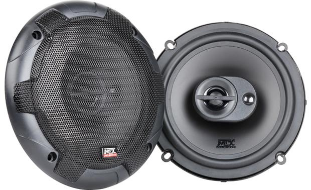 MTX Terminator653 Terminator Series 6 1 2 3 Way Car Speakers At