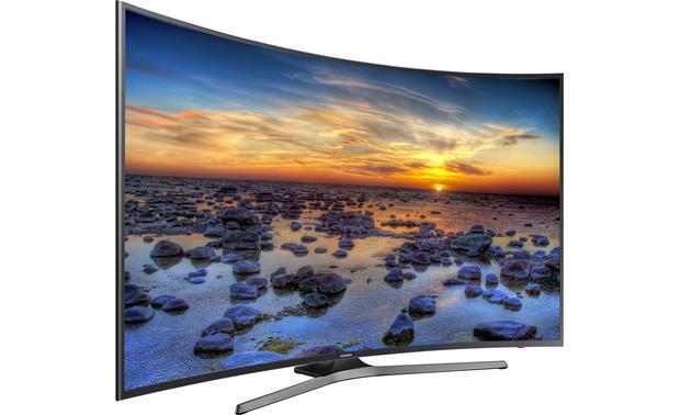 Samsung Un55ku6500 55 Quot Curved Smart Led 4k Ultra Hd Tv At