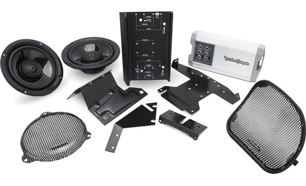 Rockford Fosgate HD14-TKIT Transform your sound without modifying your bike.