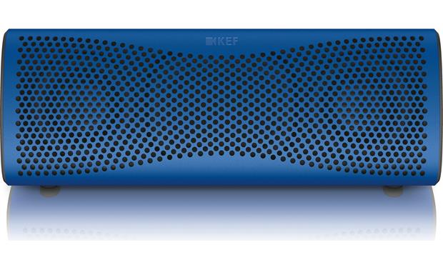 KEF MUO Blue - front view, horizontal