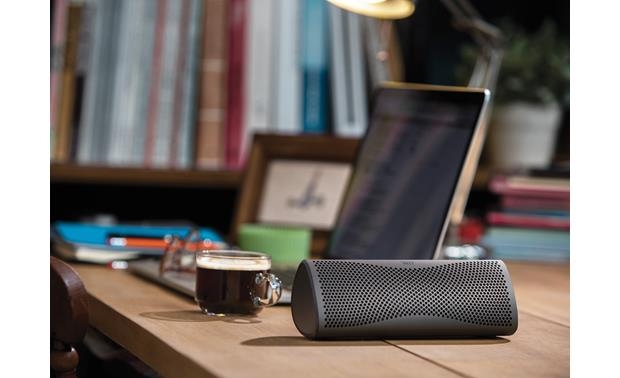 KEF MUO Gun Metal - stream music wirelessly from your phone (smartphone not included)