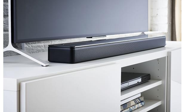 Bose® SoundTouch® 300 soundbar Easily fits into most TV setups