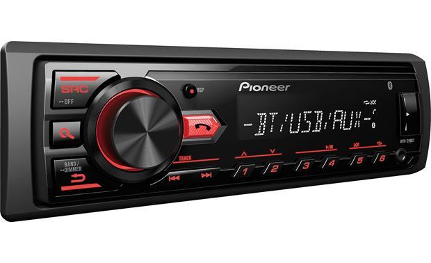 Harness Pioneer Wiring Radio Mvh 290bt. Pioneer Car Speaker Wiring on