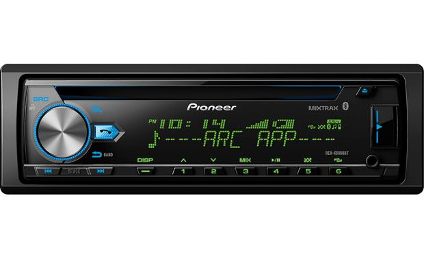 pioneer deh x6900bt cd receiver at crutchfield com pioneer deck wiring pioneer deh x6900bt front